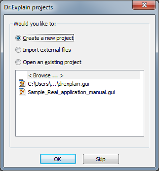 How to Create Help File for Delphi Application in Dr Explain