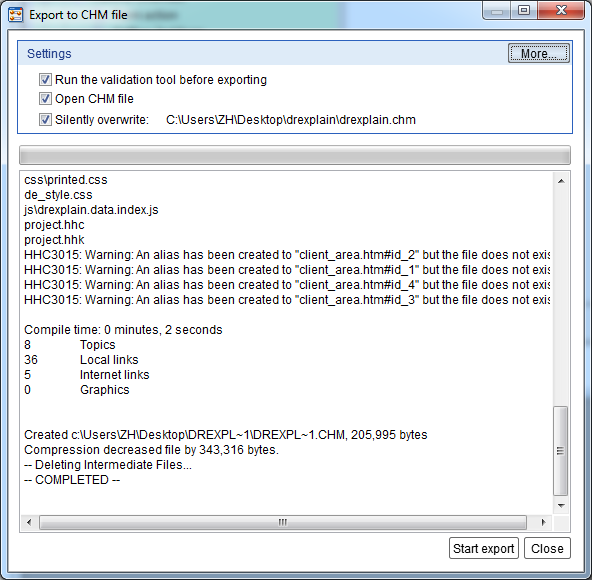 How to Create Help File for Delphi Application in Dr Explain :: Articles