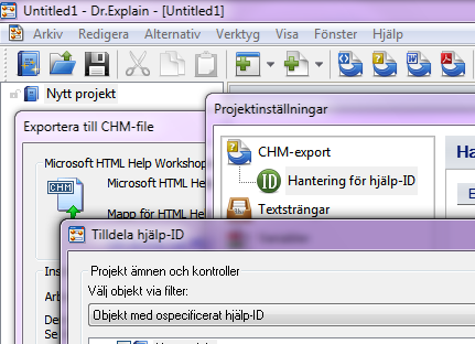 Dr.Explain är en programvara för att skapa hjälpfiler, bruksanvisningar, online-manualer och dokumentation för olika programvaror