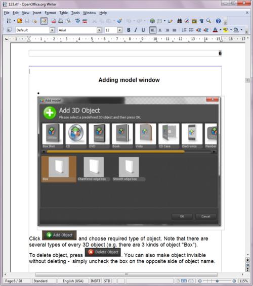 Creating printable manuals in RTF